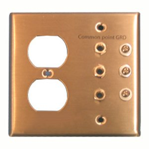 Stainless Steel Grounding Plate