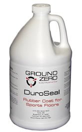 ZeroStat DuroSeal Rubber Coat for Sports Floors