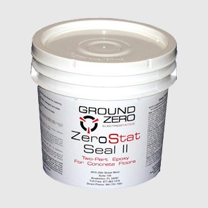 ZeroStat Seal 2 - Water-Based Epoxy for Concrete Floors