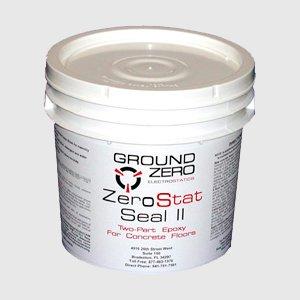 ZeroStat Seal 2 - Water-Based Epoxy for Concrete Floors
