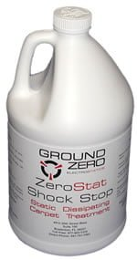 ZeroStat Shock Stop ESD Carpet Cleaner