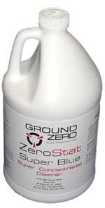 ZeroStat SuperBlue Concentrated ESD Floor Cleaner