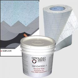 Adhesives for ESD Flooring